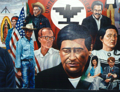 an analysis of the painting of cesar chavez tribute by the artist emigdio vazquez Carlos almaraz art brokerage: carlos almaraz mexican/american artist: b 1941-1989 carlos almaraz almaraz was born in mexico city, but his family moved when he was a young child, settling in chicago, illinois, where his father owned a restaurant for five years and worked in gary steel mills for another four.