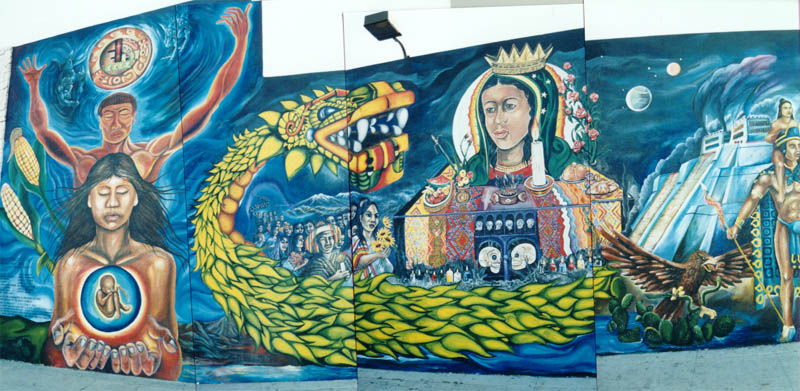 Quetzalcoatl Mural Project